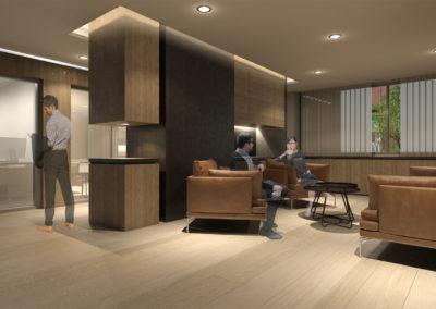 查理士辦公室設計-接待廳
