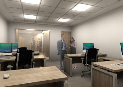 查理士辦公室-辦公區